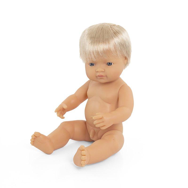 Bebé europeo niño de 38cm