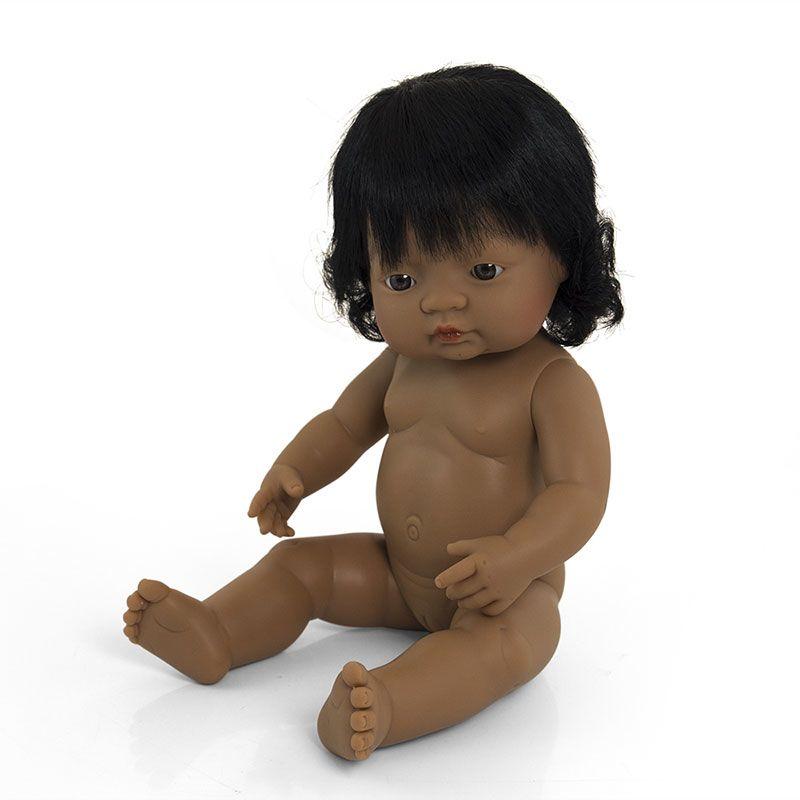 Bebé latinoamericano niña de 38cm
