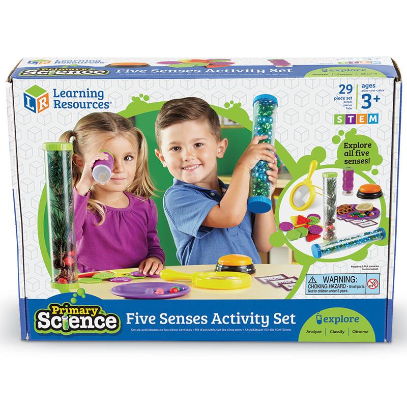 Set de actividades de ciencias primarias 5 sentidos
