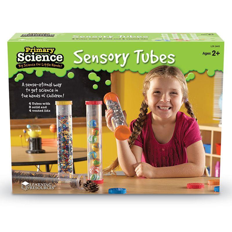 4 Tubos sensoriales de ciencias primarias