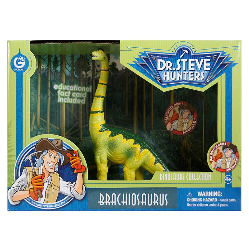 DR. STEVE - DINOSAURS COLLECTION BRACHIOSAURUS