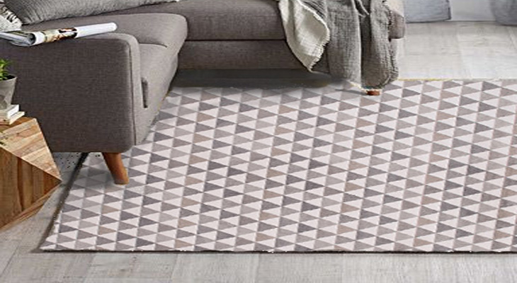 How to combine your decor with geometric pattern rugs?