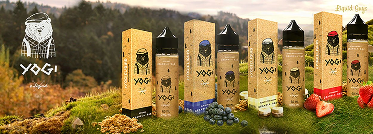 Eliquid Yogi 50ml boosted Tpd
