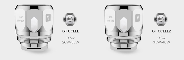 Resistencias Vaporesso GT CCELL / CCELL2​