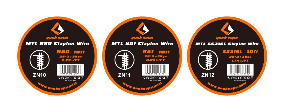 GEEKVAPE - MTL Clapton Wire