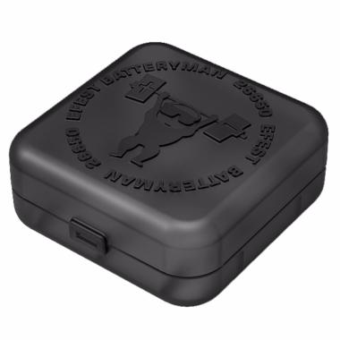 Caixa baterias 26650 Man Efest (tambem util para transporte tanques ate 26mm