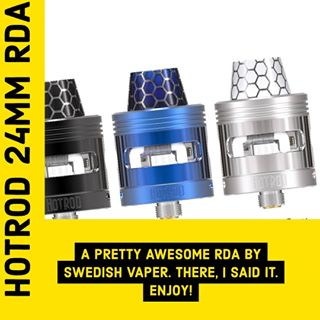HotRod RDA 24mm - Swedish Vaper