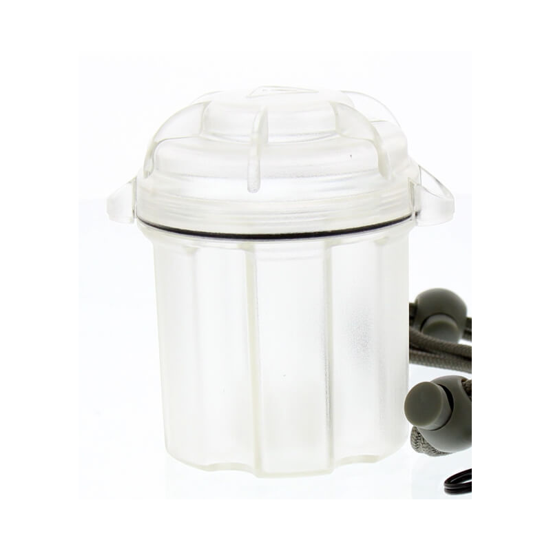 Caixa 6 BAterias 18650 Super Waterproof Transparent Efest
