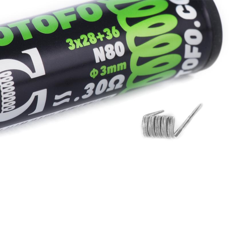 Resis DIY Ni80 Alien Prebuilt Coil - Wotofo
