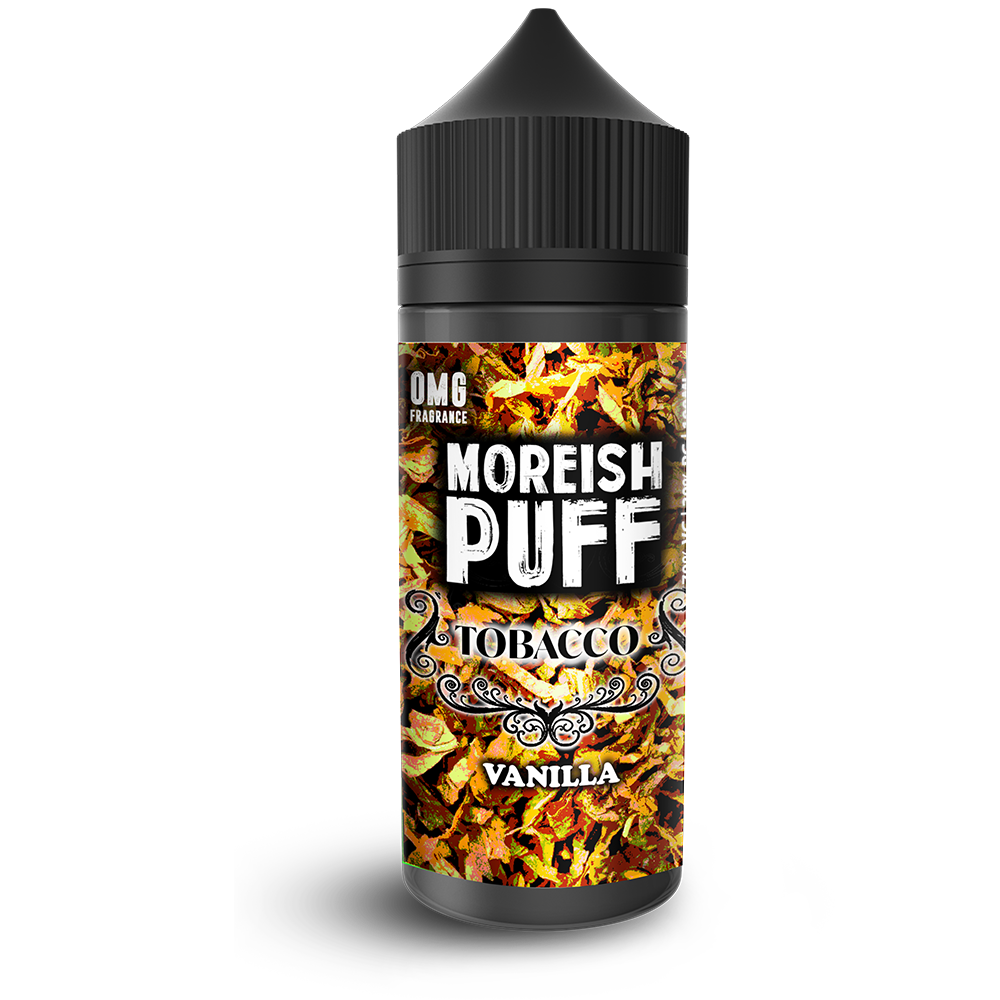 Eliquid Moreish Puff   Tobacco - 100ML 0mg