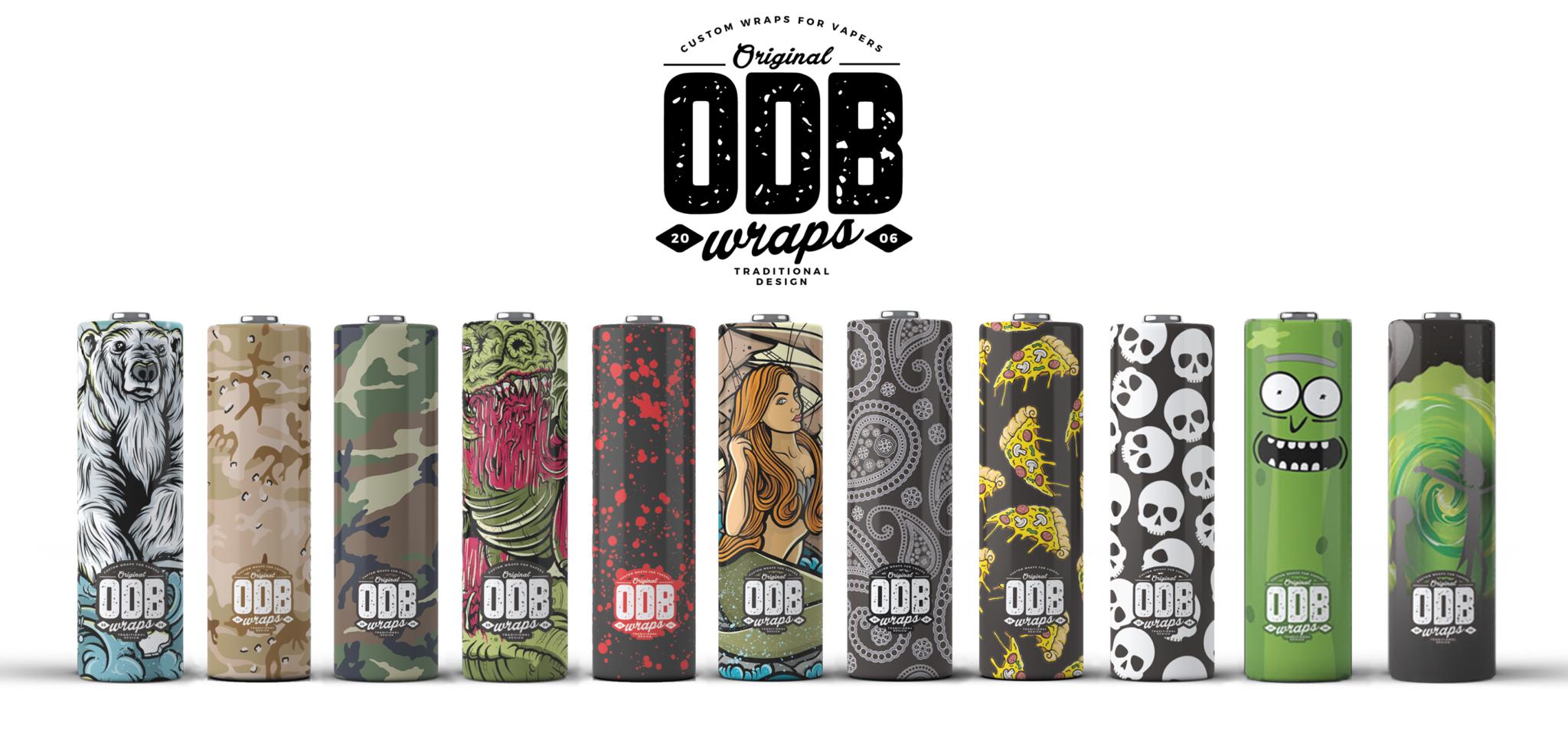 wraps Odb 18650 / 20700 pack 4
