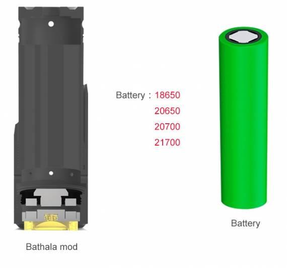 Serisvape Bathala Mech Mod