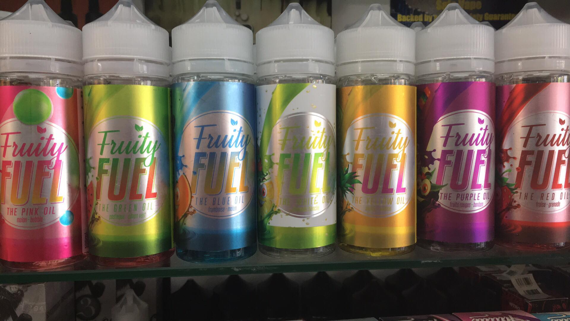 Eliquid Fruity Fuel 100ml 0mg