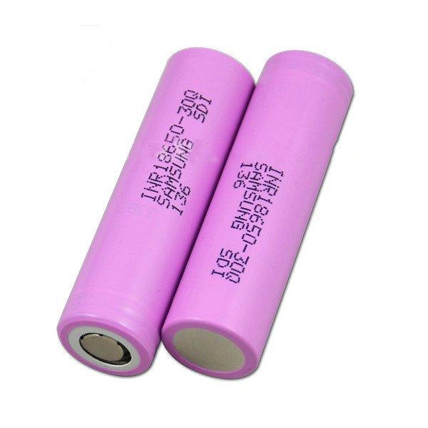 18650 Samsung 3000mAh INR18650-30Q High Discharge Flat