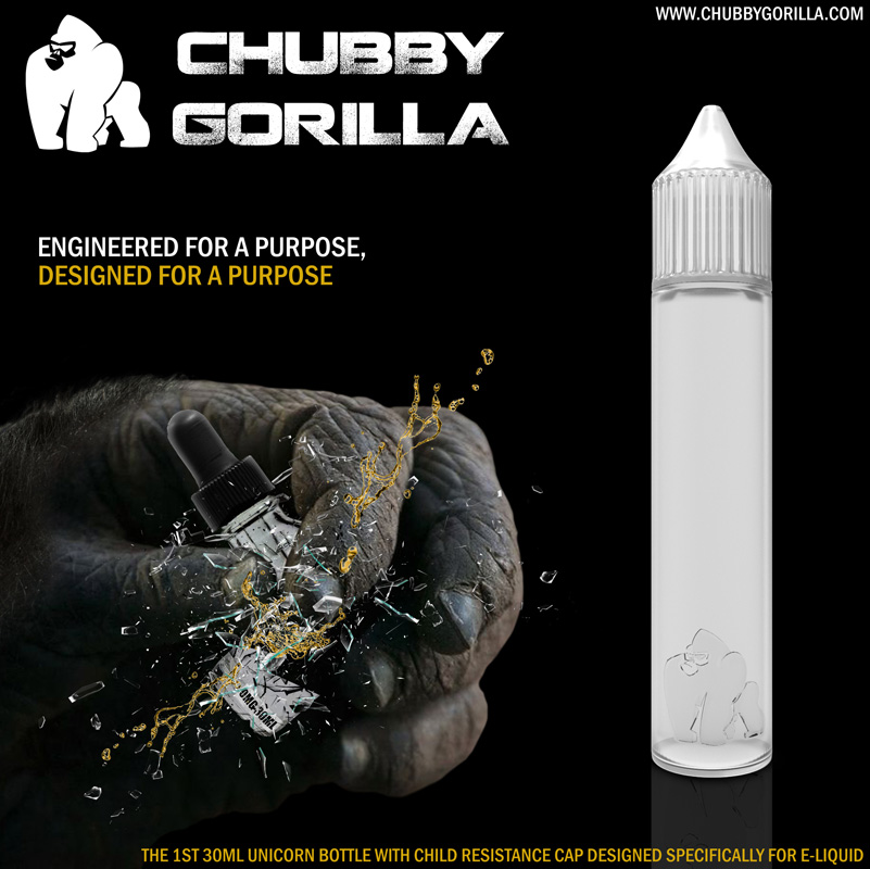 Unicorn Signature - Chubby Gorilla 10ML & 17ML & 30ML & 60ML &  200ml