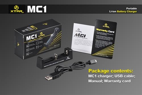 Carregador MC1 Xstar /  MC2 Xstar Light