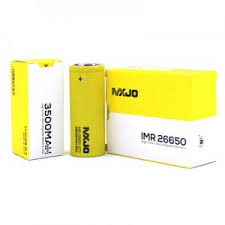 MXJO 26650 3500mAh Flat Top Battery IMR
