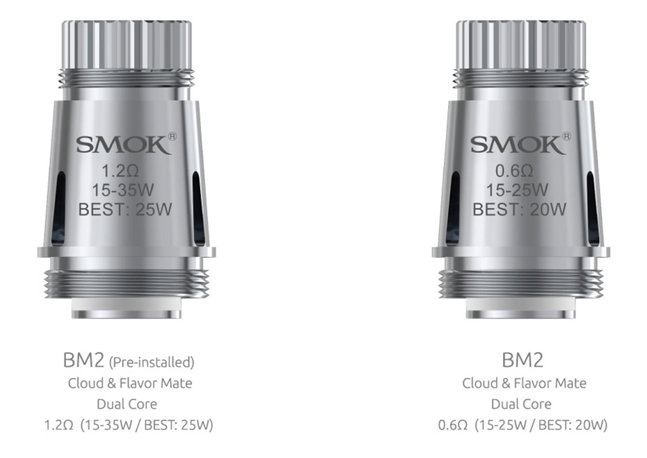resistencias smok Brit Mini BM2