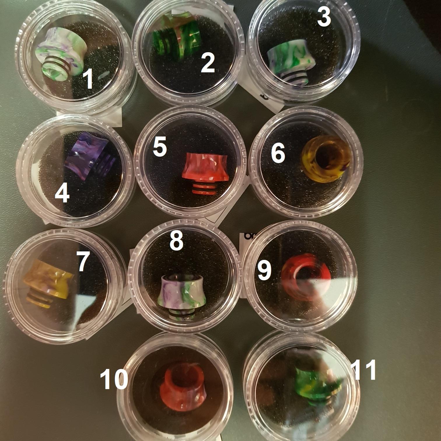 Drip tip resina 510 ( verdadeira resina estabilizada )