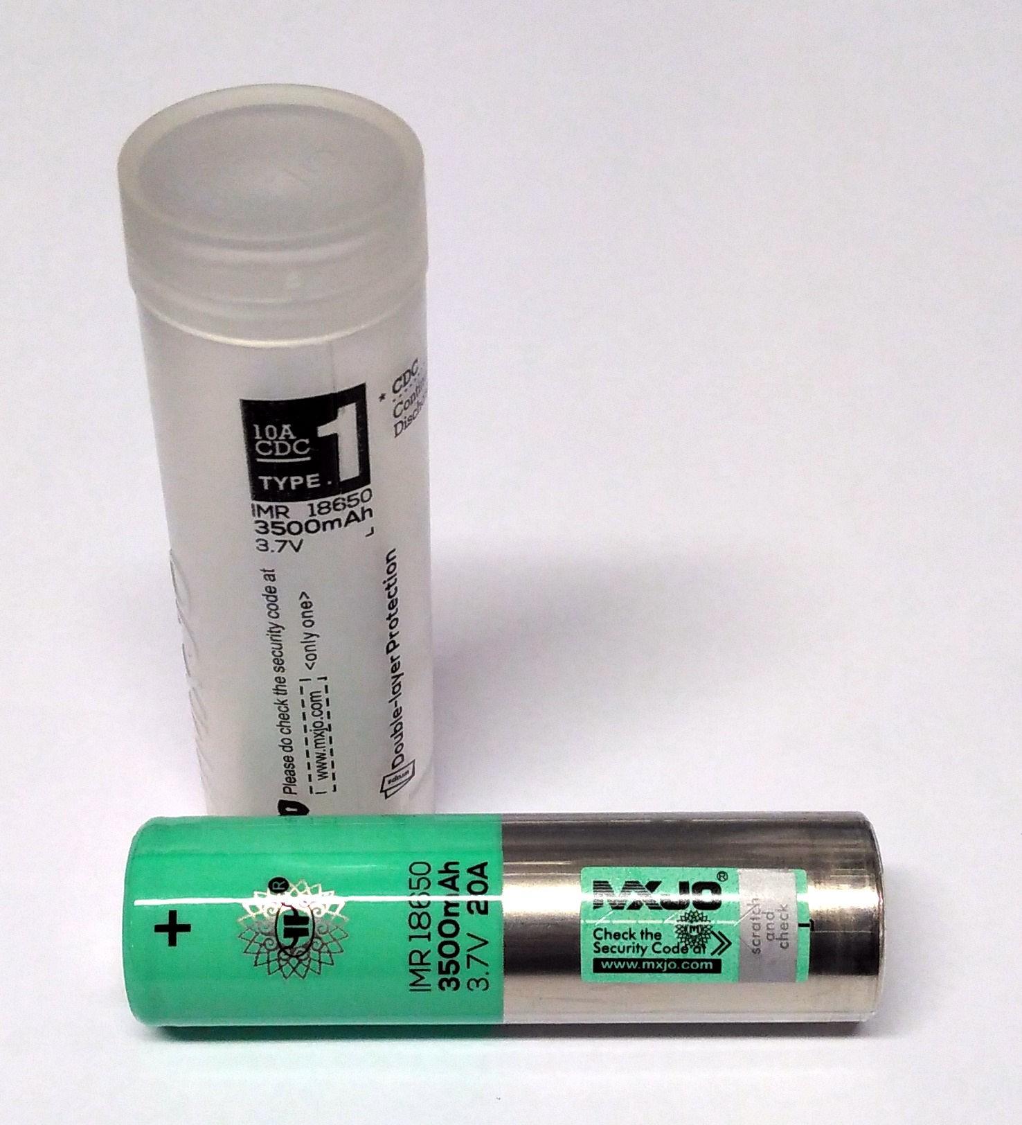 bateria MXJO 18650 3500 Mah 20A
