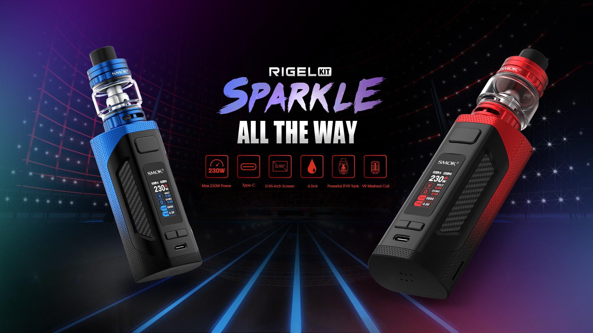 KIT Smok Rigel 230W