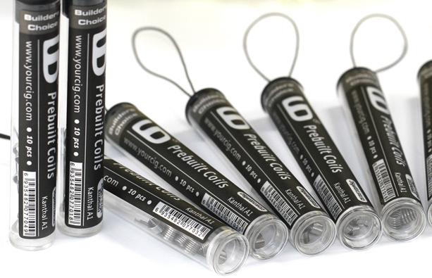 Tubo de 10 coils Prebuilt Youde tech