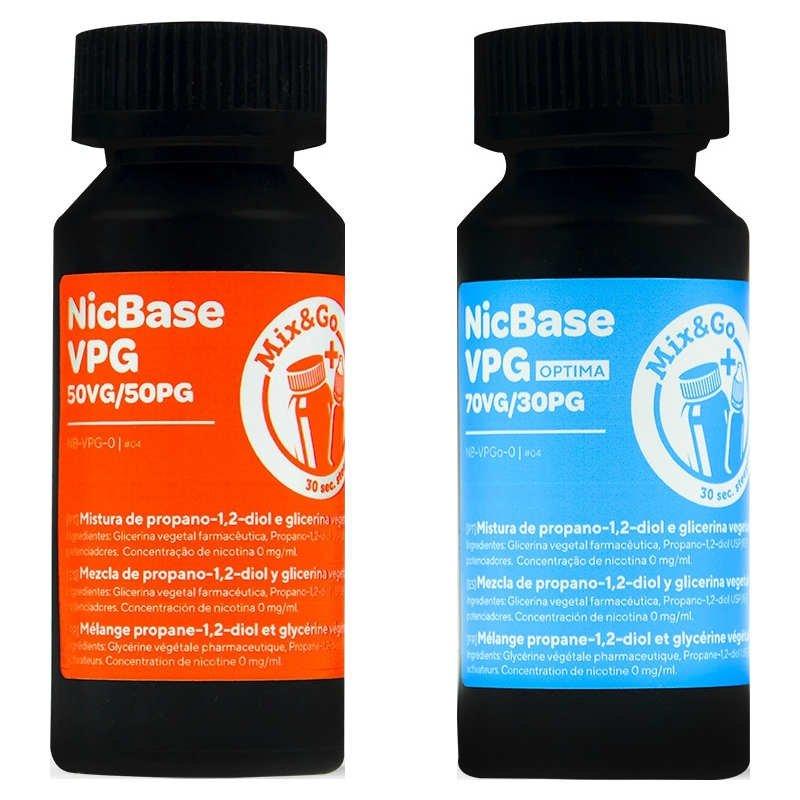Base DIY Mix&Go 30PG/70VG 0mg - Chemnovatic 80ml