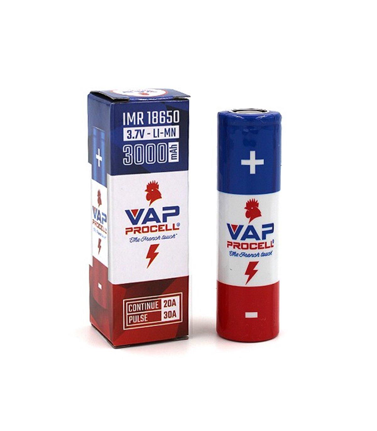Bateria IMR 18650 Power 3000mAh - Vap Procell