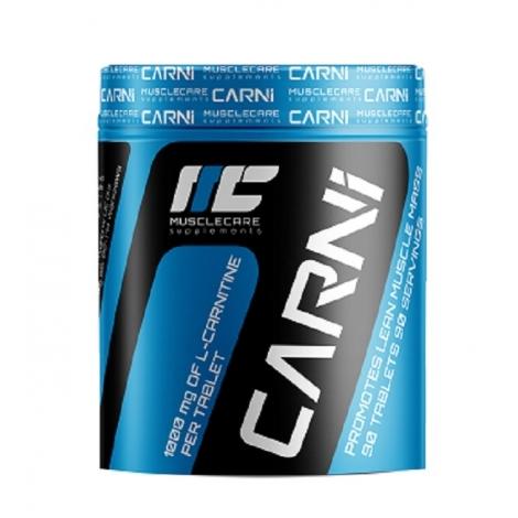MuscleCare Carnitina 90 tabletas 1000mg