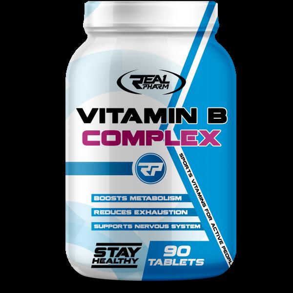 Real Pharm Complejo B 90 tabletas