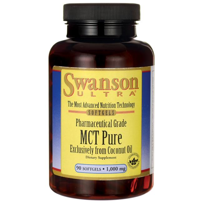 MCT Puro 90 softgels 1.000 mg - Swanson