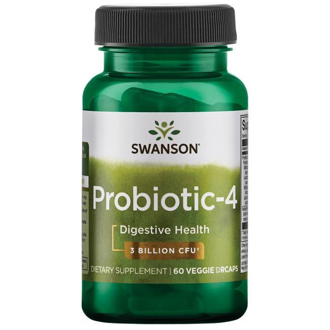 Probiotico 4- 60capsulas Swanson