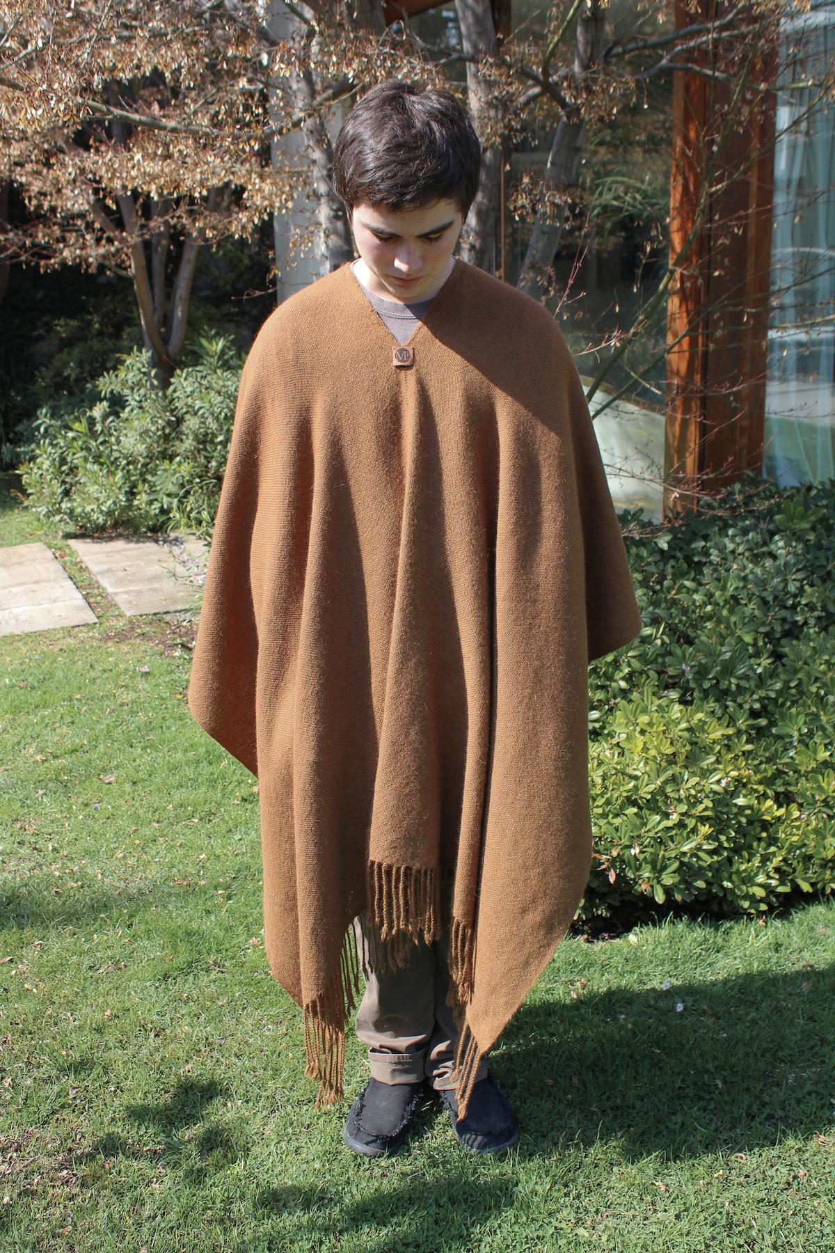 Poncho Alpaca vicuña