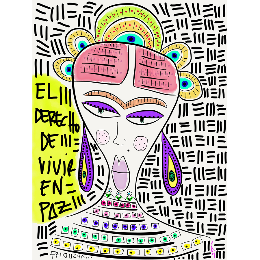 FRIDA, THE RIGHT TO LIVE IN PEACE