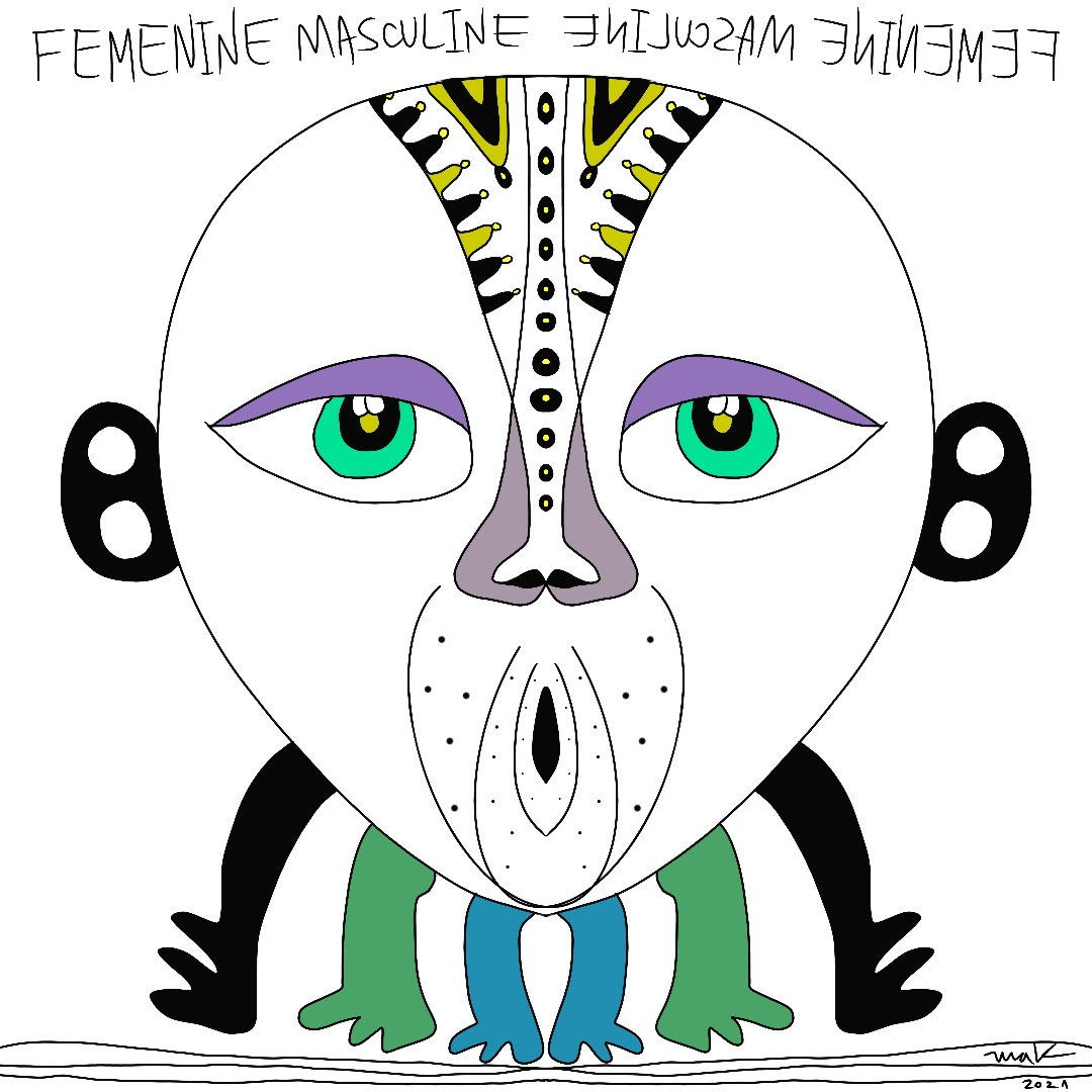 Feminine Masculine. We are powerful mixed energies
