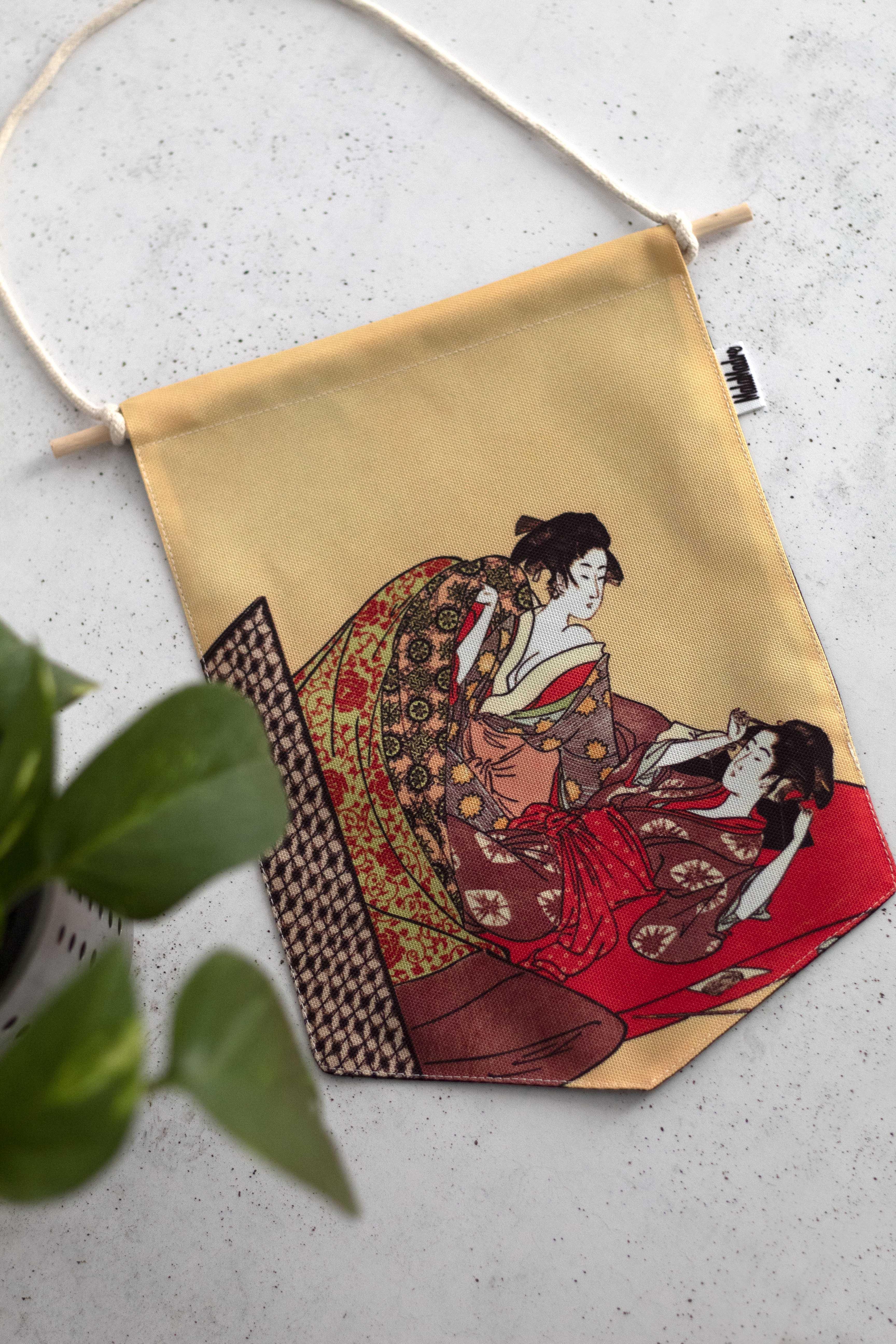 Banderín Geishas