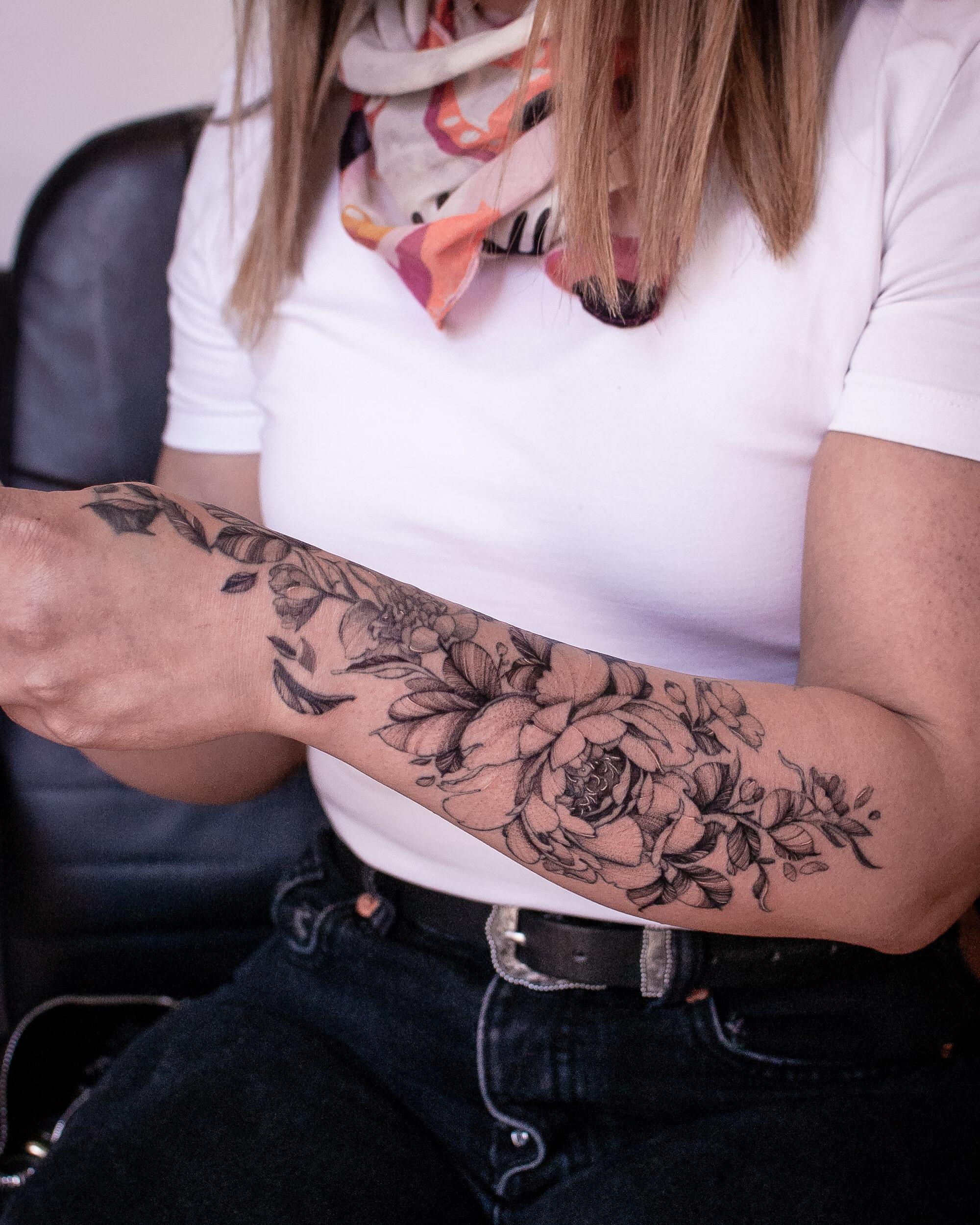 Video Explicativo tatuaje botánico David Riera