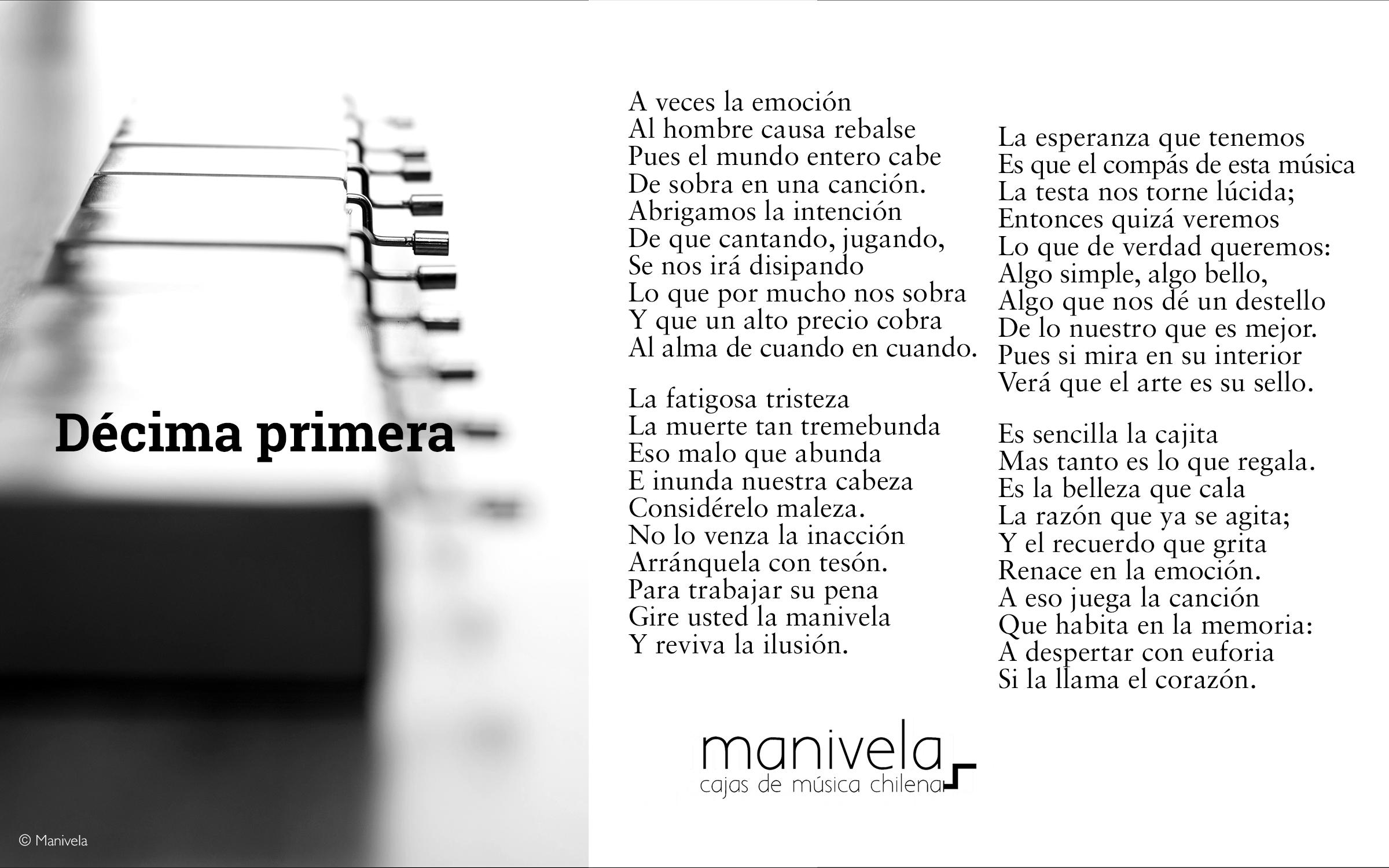 #ManivelaEnDécimas