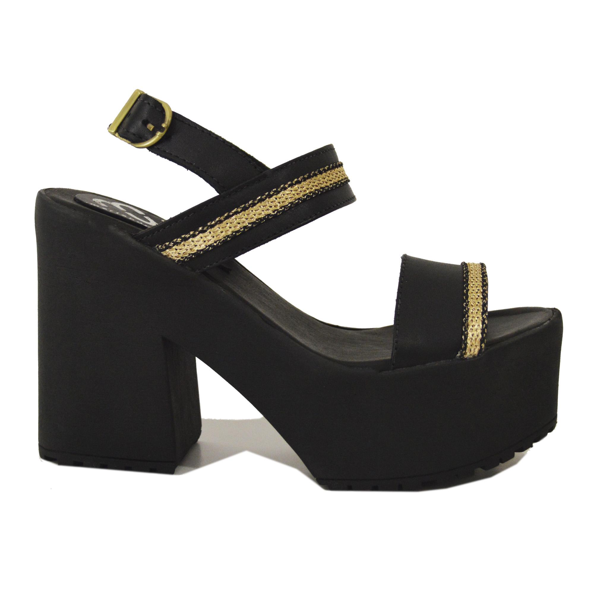 A PEDIDO - Jacinta Negro Gold Stripe