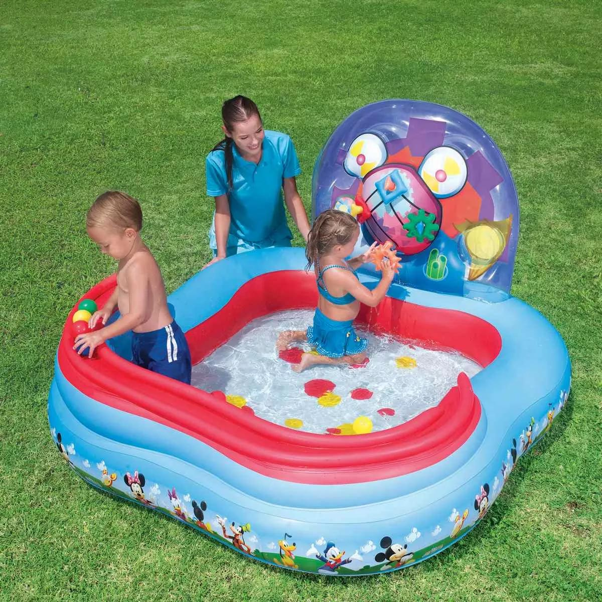 Play Center Piscina Mickey 6 Pelotas
