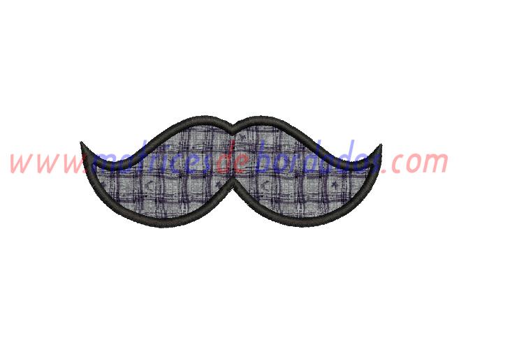 EU98RP - bigote apliqué