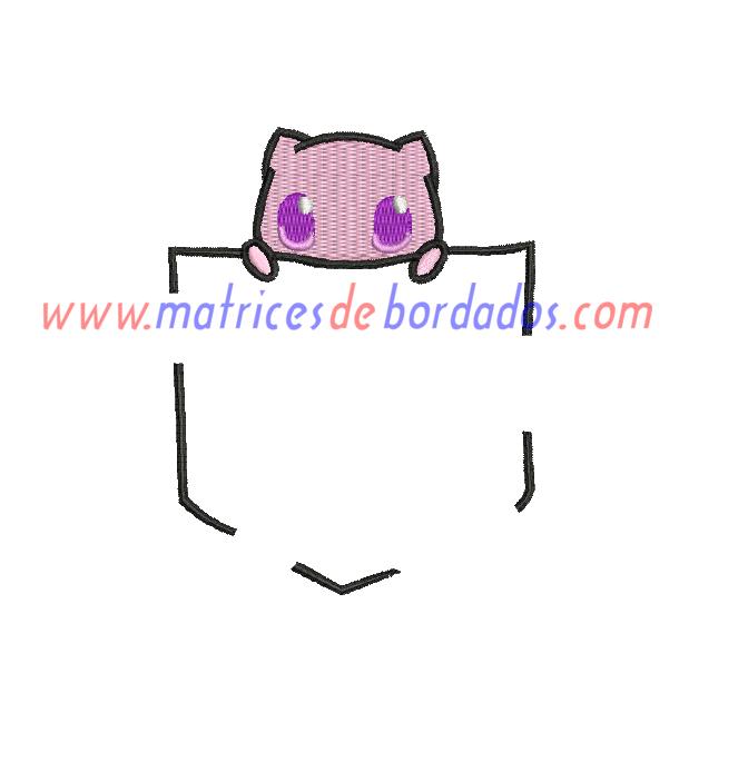 KJ34UL - Pokemon Bolsillo Mew
