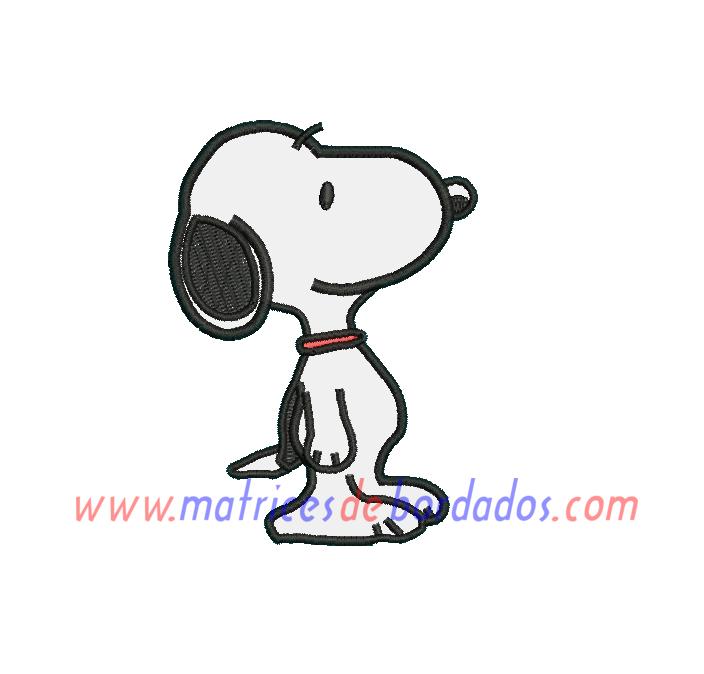 VC37ME - Snoopy Apliqué