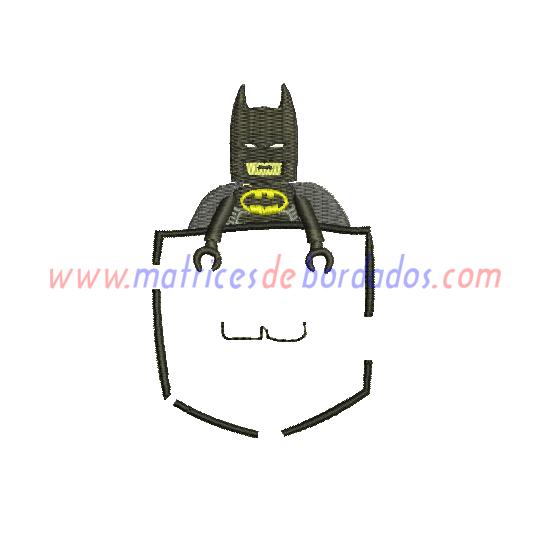 ML93SQ - Bolsillo Batman Lego