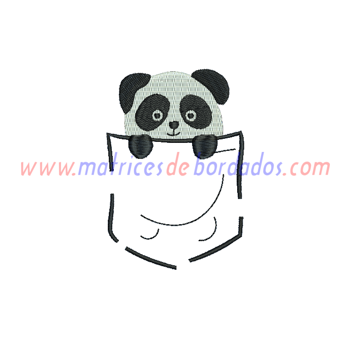 VE74XS - Bolsillo Panda