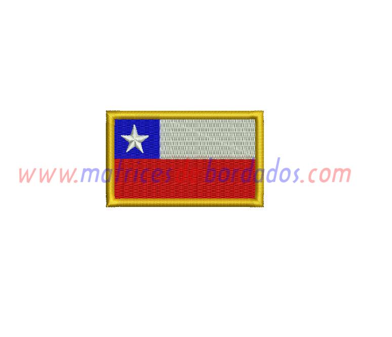 PA42FK - Bandera Chilena