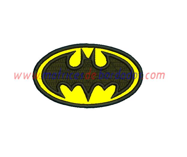 RX72TT - Batman logo apliqué