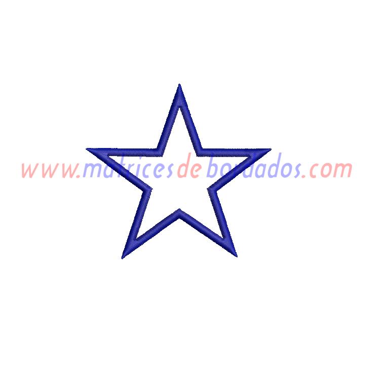 BX66AC - Estrella Apliqué
