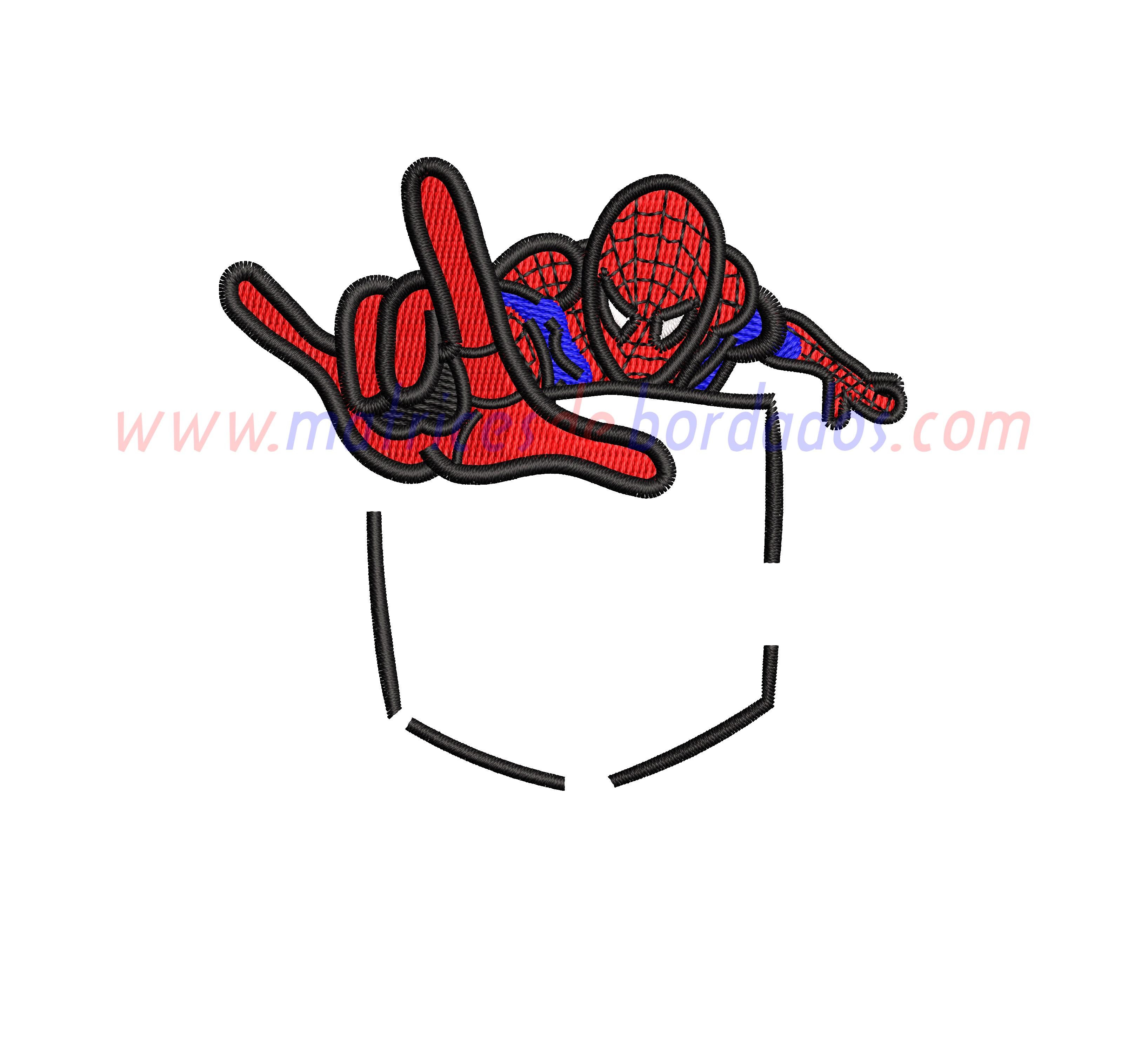 FR47AS - Bolsillo Spiderman
