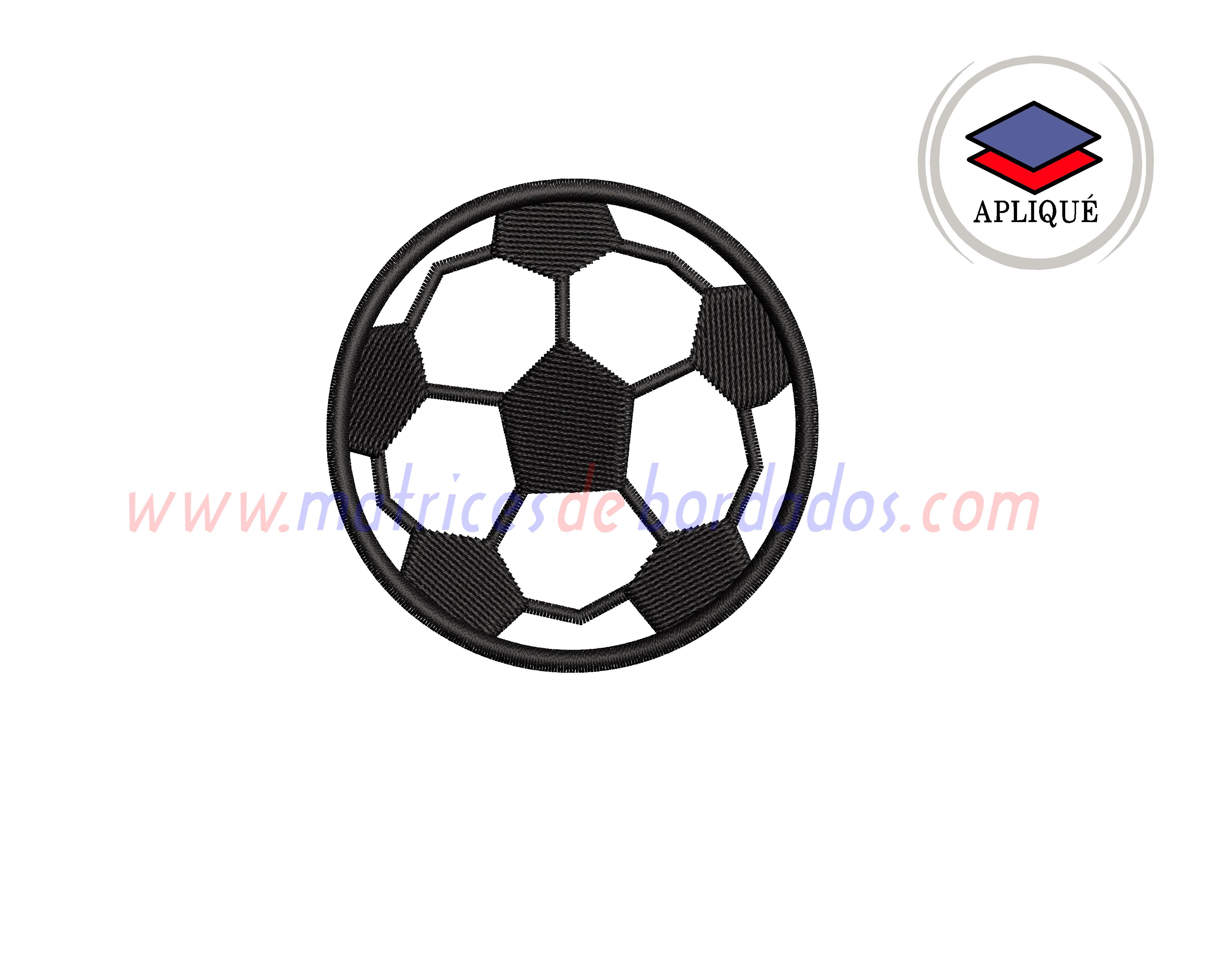 VZ75QW - Pelota de fútbol apliqué